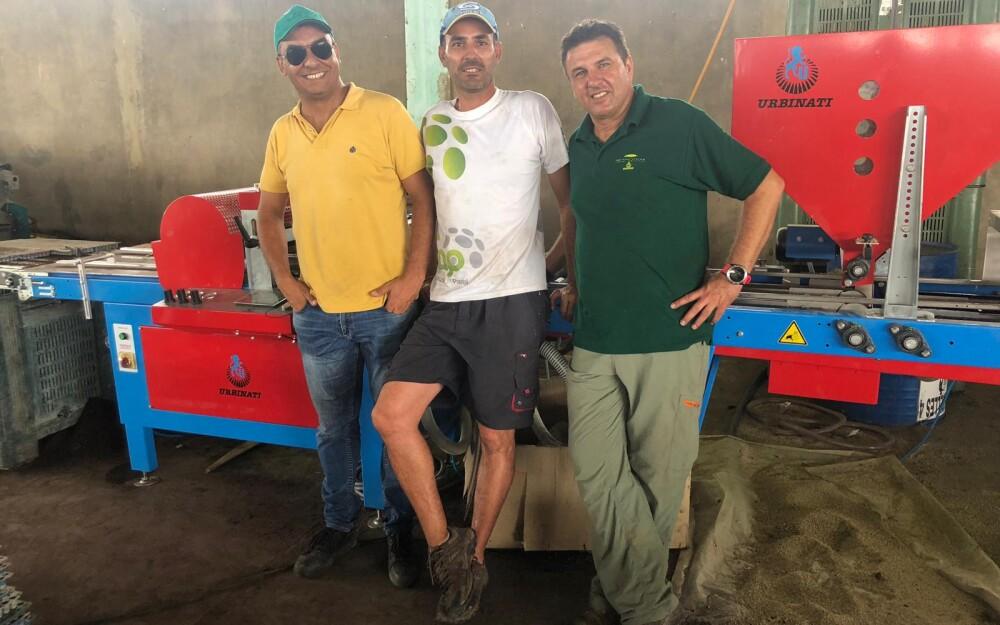 Sembradora Ypsilon de Agroservicios Rafael Martínez en Senegal